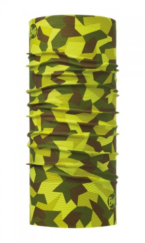 Original Buff Chusta Original US Buff BLOCK CAMO GREEN