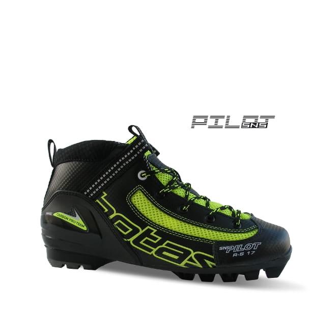 Buty do nartorolek klasyk Botas rollerski boots classic SNS Pilot